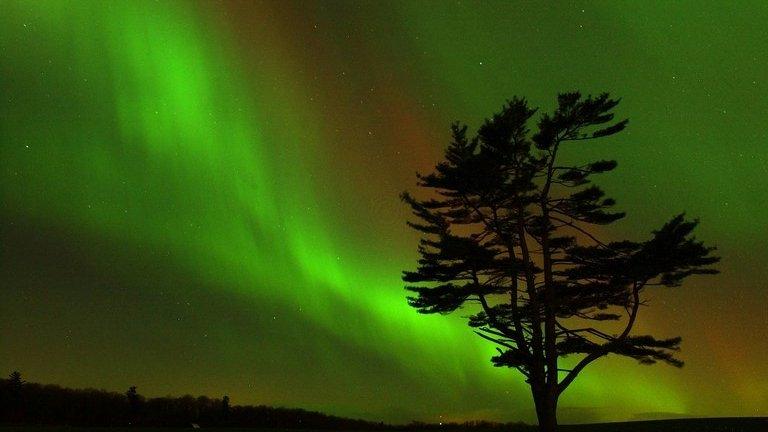 Lawnmower prompts Northern Lights alert