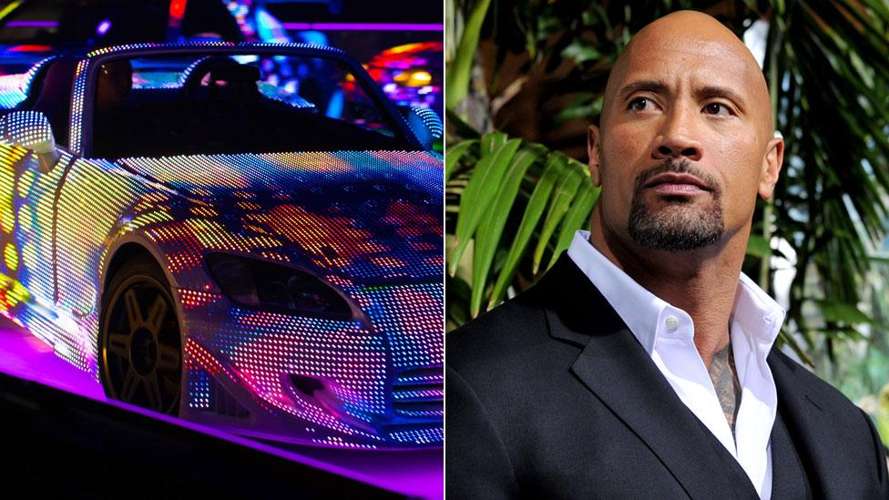 """Dwayne Johnson es uno de los protagonistas de las películas """"Fast & Furious"""". Foto: Fast & Furious Live/Getty."""