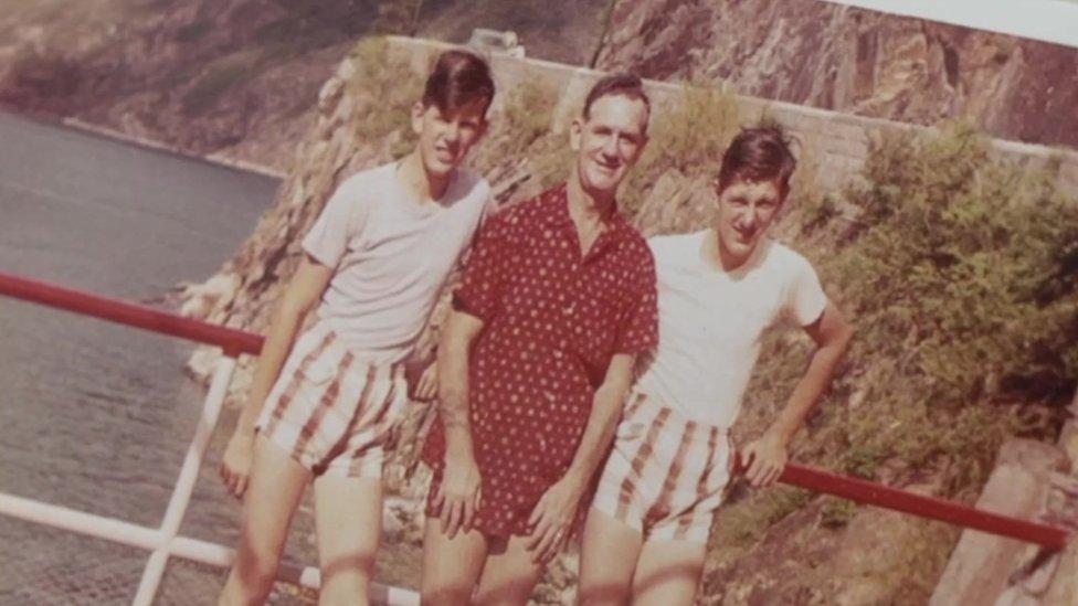 David, John and Frederick Perry