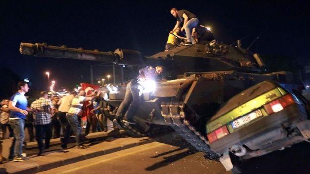 El 16 de julio se vivieron momentos dramáticos en Turquía durante un intento de golpe de Estado.