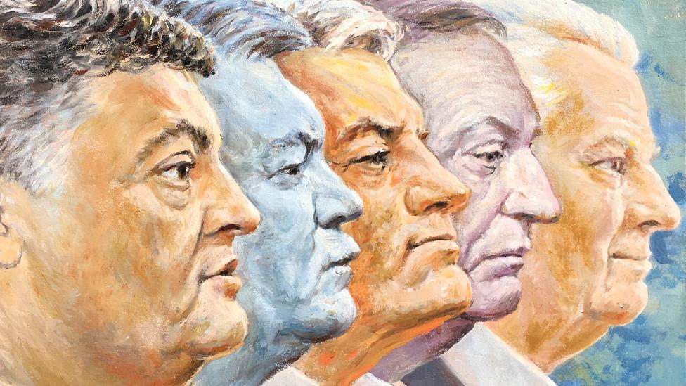 Пять президентов Украины: чем они запомнились