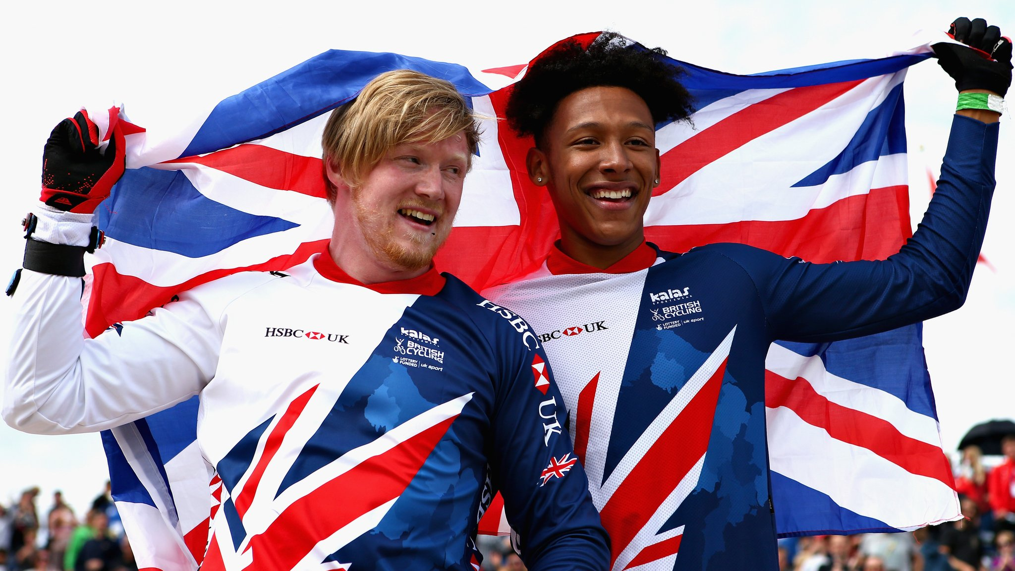 Evans and Whyte win BMX one-two for GB - highlights & report