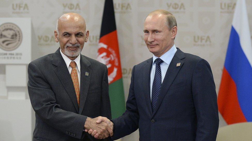 """""""افغان حکومت د مسکو ناسته کې ګډون نه کوي"""""""