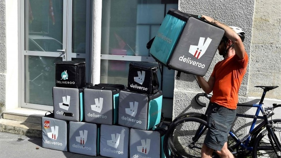 Deliveroo makes huge loss on food delivery business