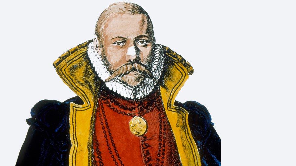 En 1597 tuvo que abandonar el castillo y la isla.