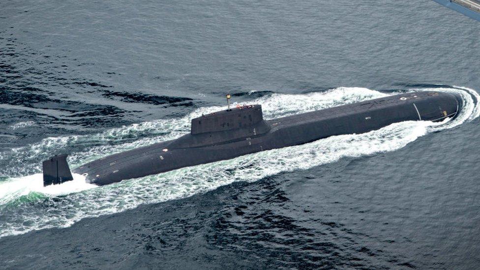 Submarino ruso