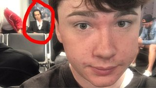 'Anyone know who this celeb is?' goes viral