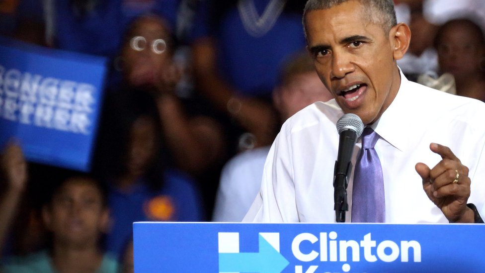 US election: Obama calls Trump's election rhetoric 'dangerous'