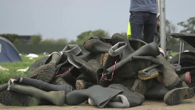 What Happens To The Wellington Boots Left Behind At