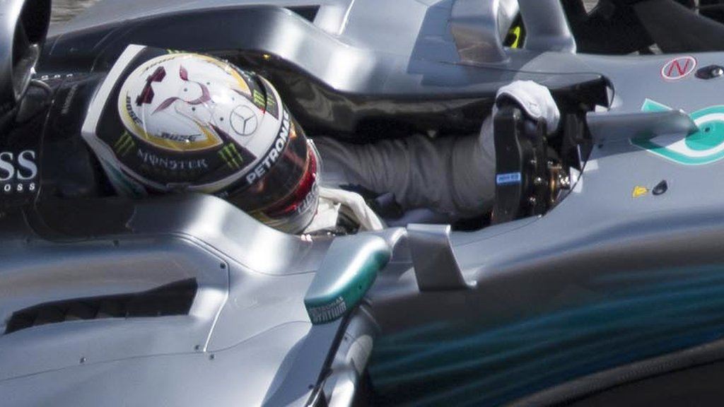 Lewis Hamilton leads Sebastian Vettel in final US GP practice