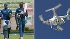 SA cricket team apologise for drone