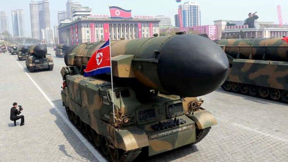 مسؤولون أمريكيون: كوريا الشمالية تجرب صاروخا جديدا