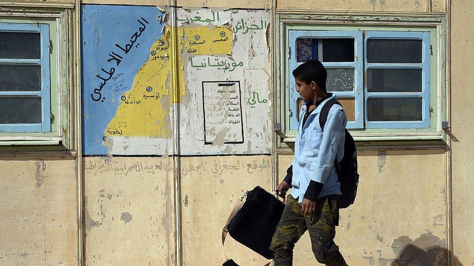Estudiante argelino