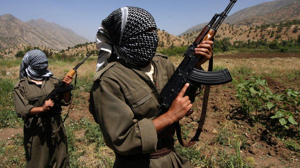 مسلحي حزب العمال الكردستاني