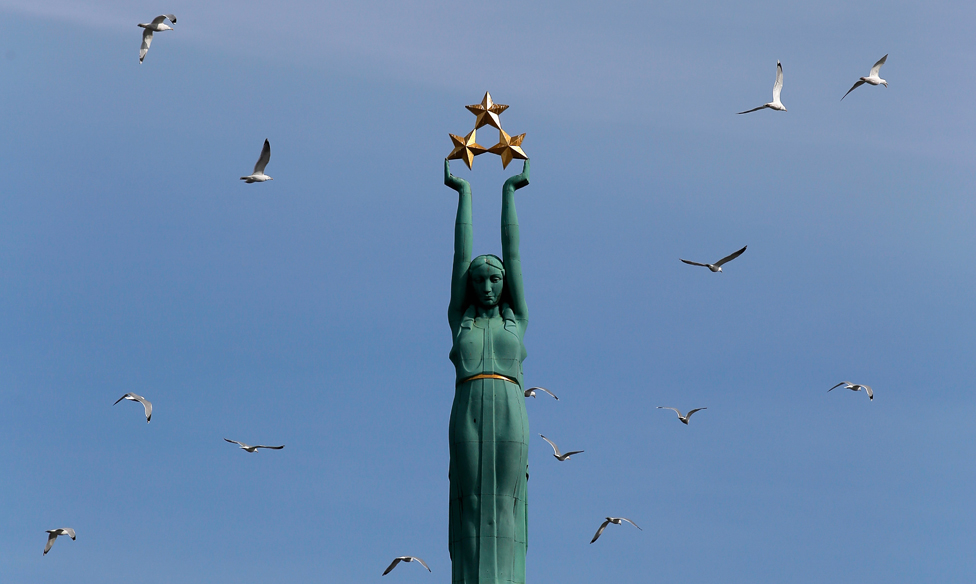 Latvia's Freedom Monument