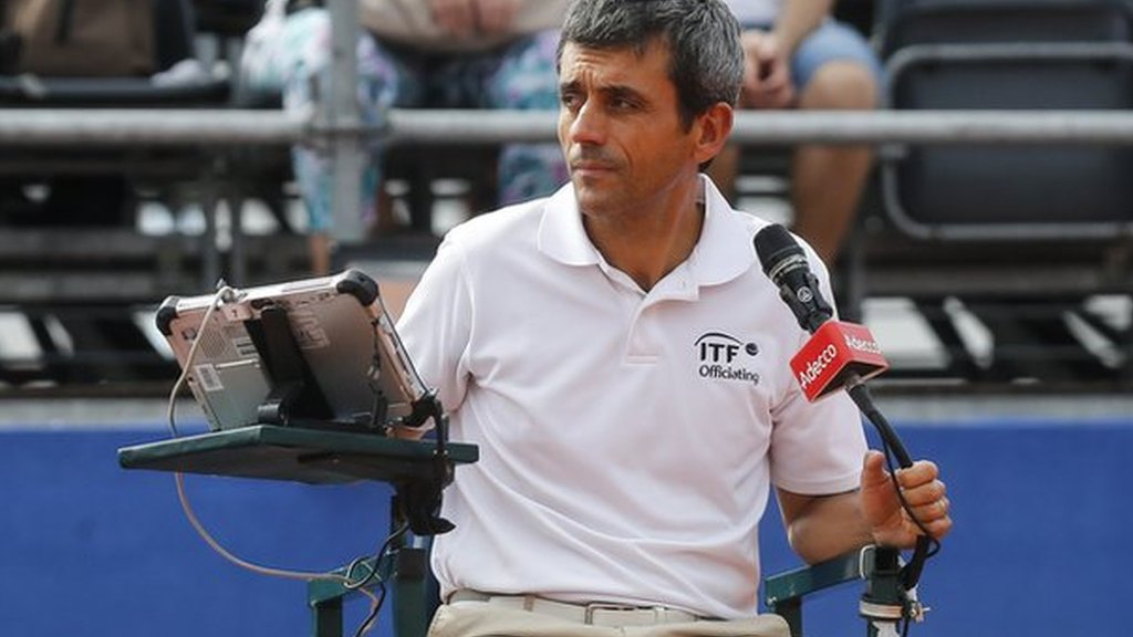 Davis Cup: Carlos Ramos umpires first match since Serena Williams row