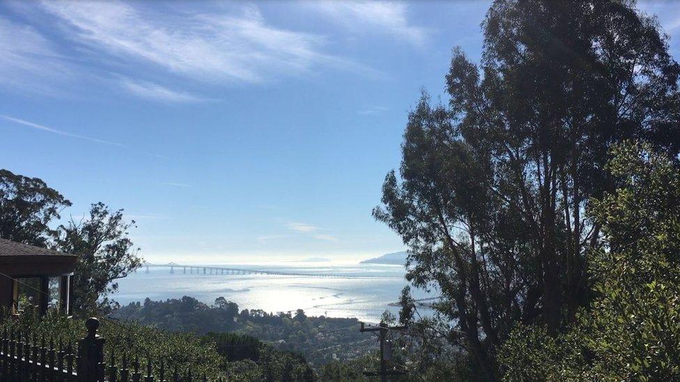 منظر مطل على خليج سان فرانسيسكو