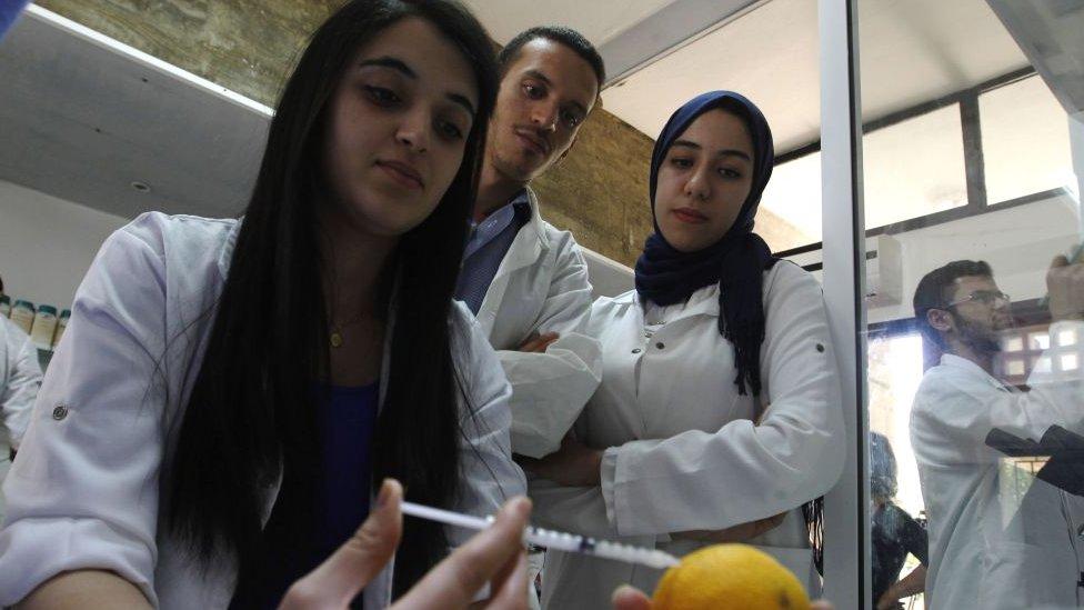 Hoy en día a las mujeres en Marruecos no les es tan difícil hacer una carrera en ciencias.