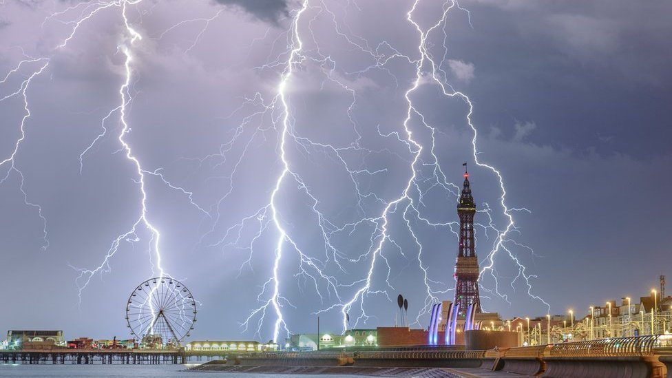 Blackpool photo wins Weather Photographer of the Year