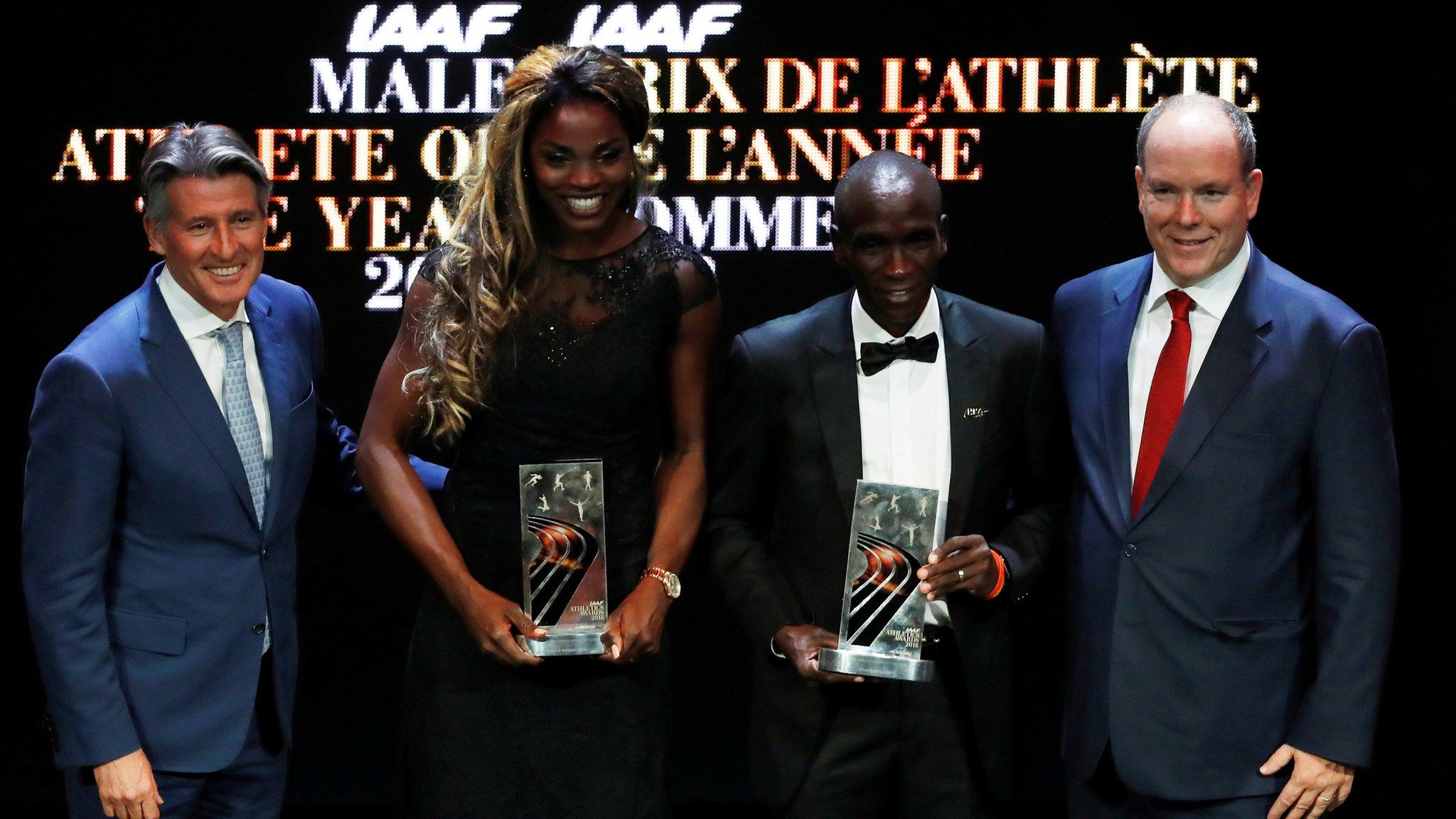Colombia's Ibarguen wins IAAF awards