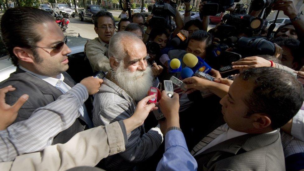 Diego Fernández de Cevallos tras su liberación