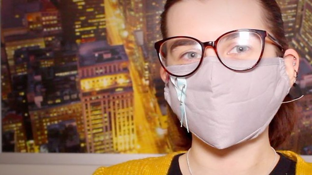 'I wear a mask to prevent cold allergy reaction'