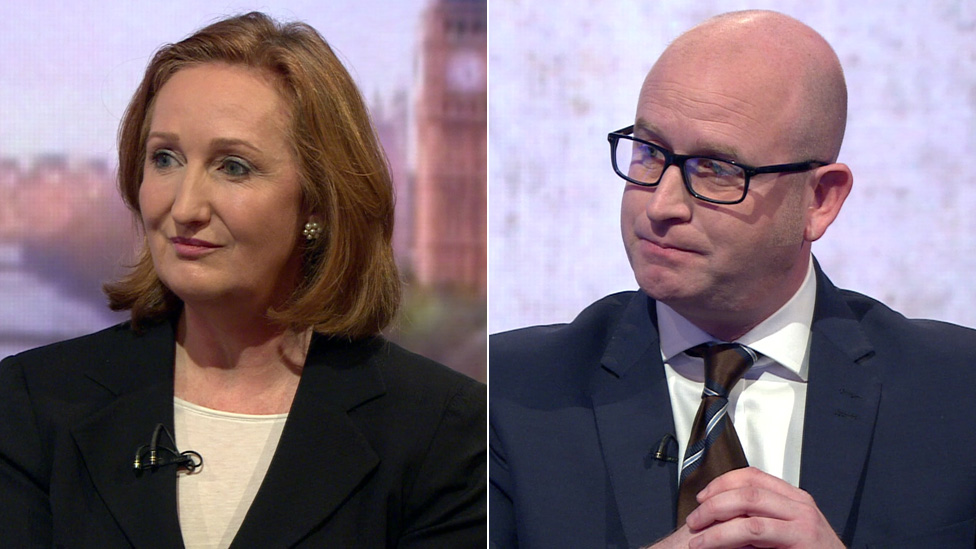 Suzanne Evans and Paul Nuttall run for UKIP leadership