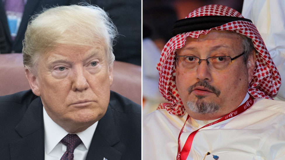 Jamal Khashoggi: Trump won't listen to 'terrible' murder recording