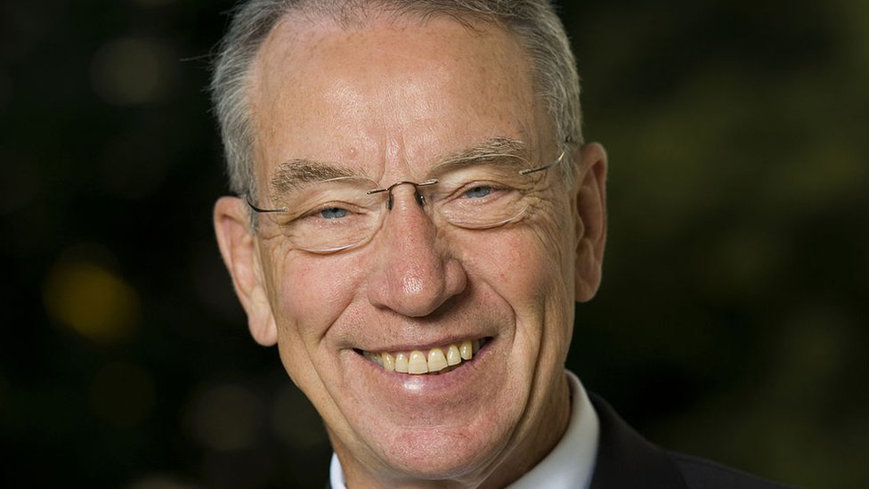 Chuck Grassley, senador de Iowa