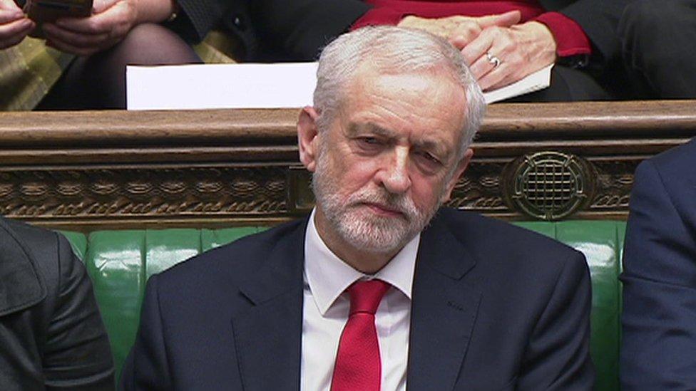 Jeremy Corbyn accused of 'stupid woman' jibe at Theresa May