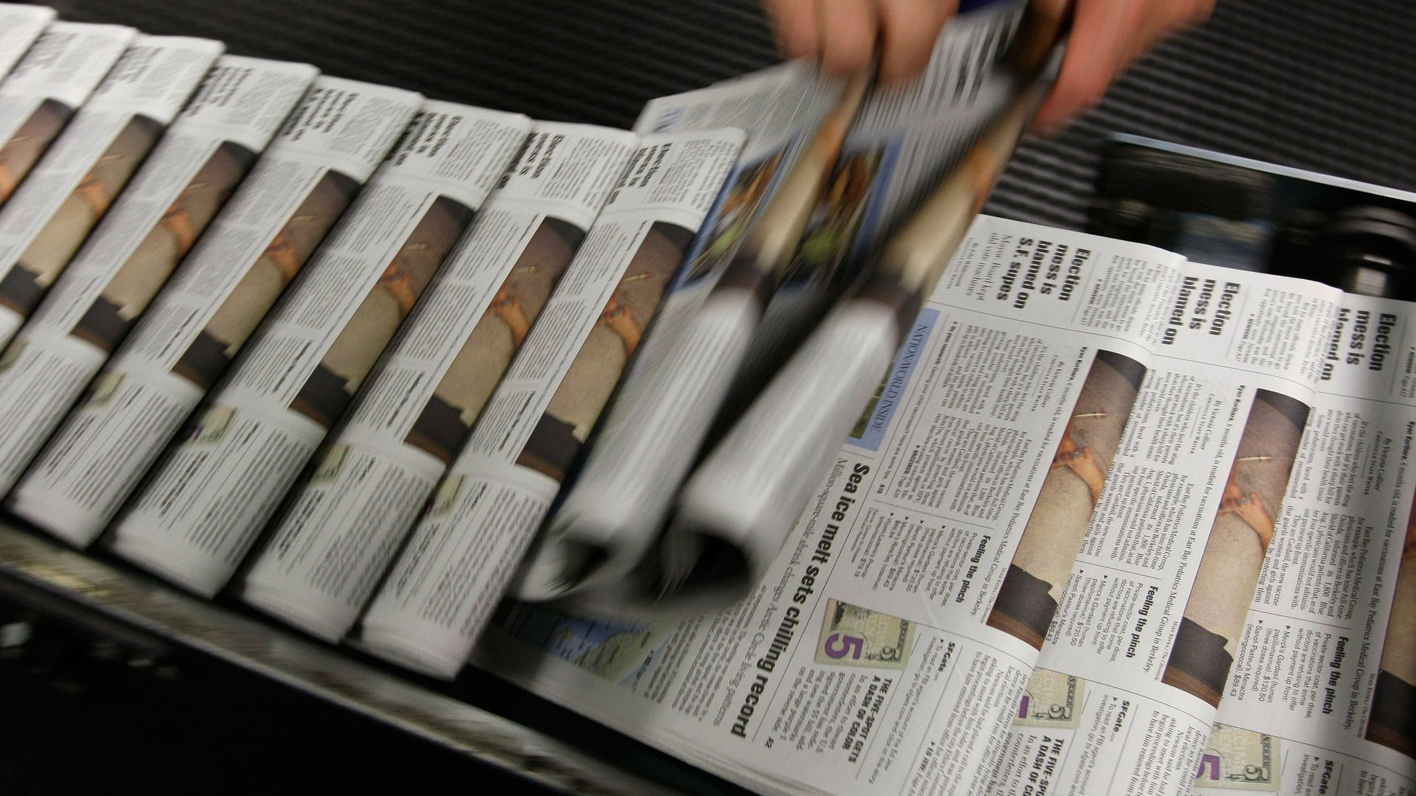 In The Past Decade, Hundreds Of Local Us Newspapers Have