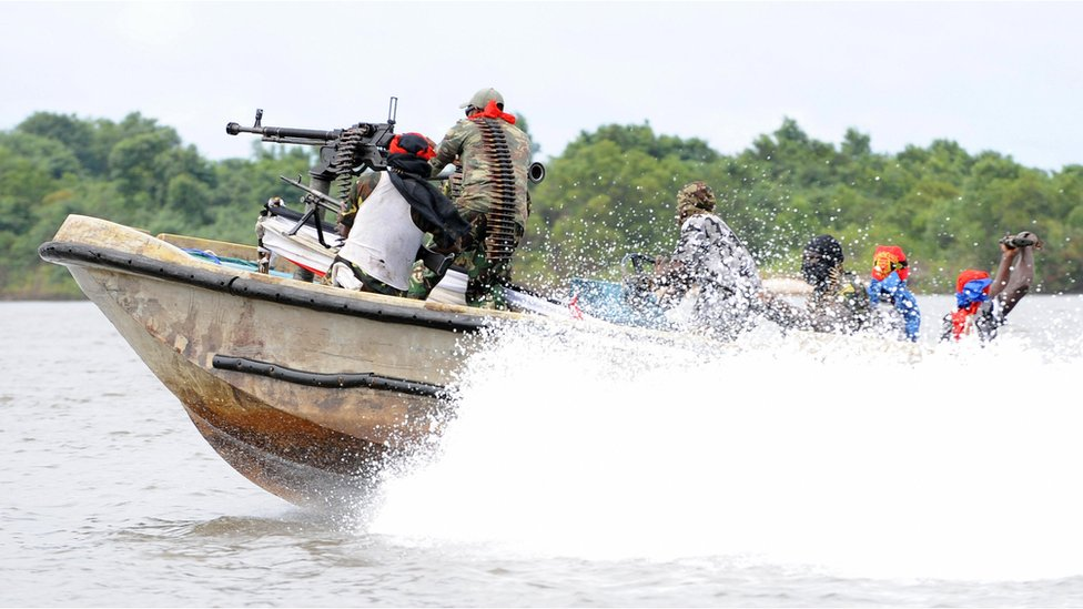 Militants from the Nigerian movement MEND