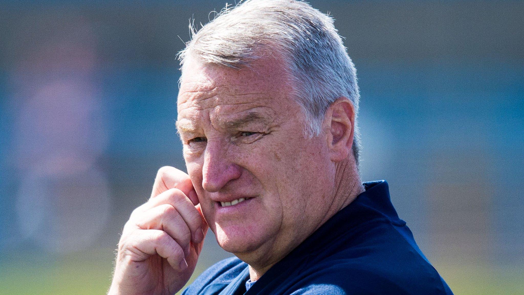 Cove Rangers boss Sheran suffers heart attack