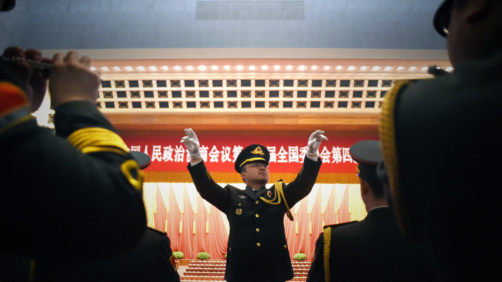衝著港獨來?中國要立《國歌法》 亂改、亂噓國歌將受制裁