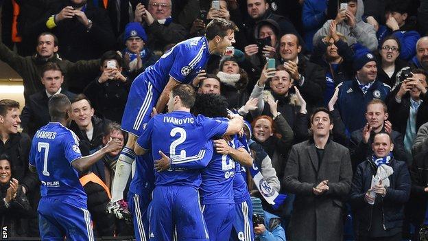 Chelsea beat Porto in Champions League