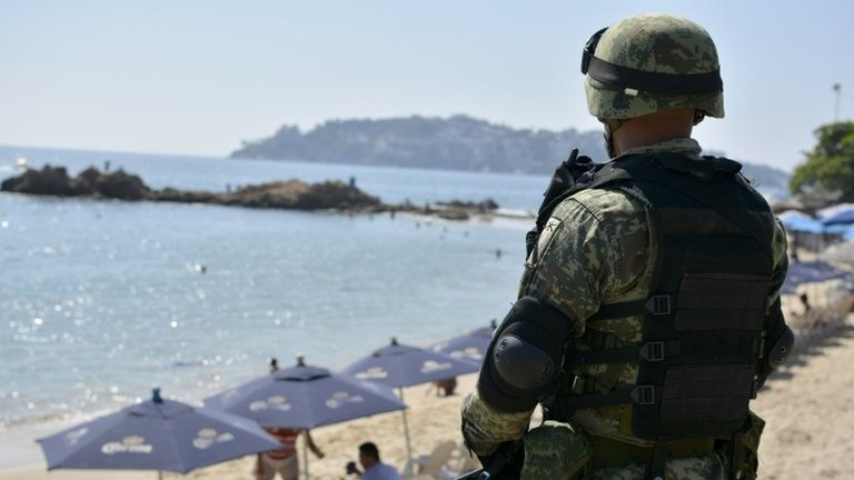 US issues highest travel warning for five Mexican states