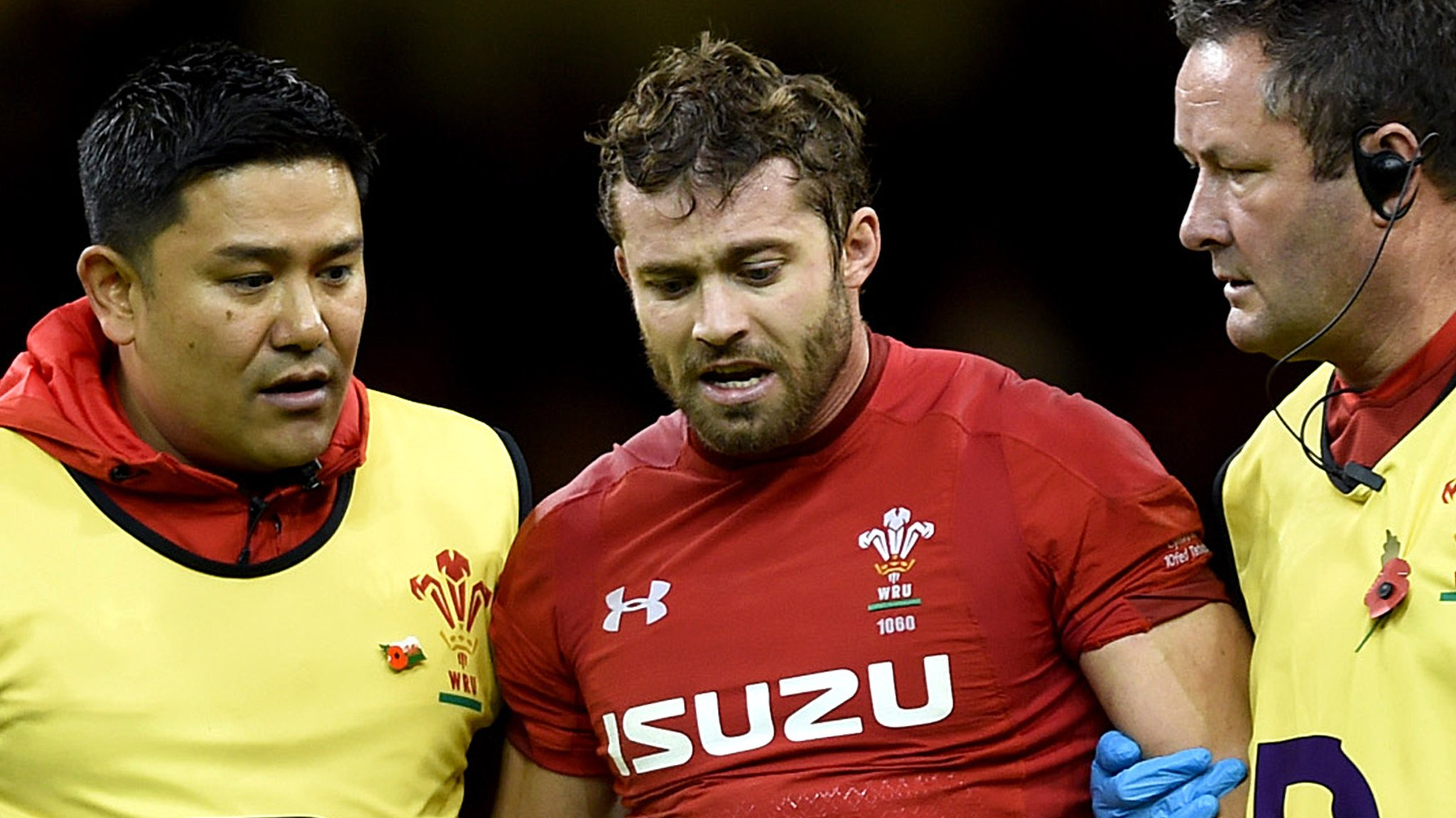 Leigh Halfpenny: Concussion setback for Wales and Scarlets full-back