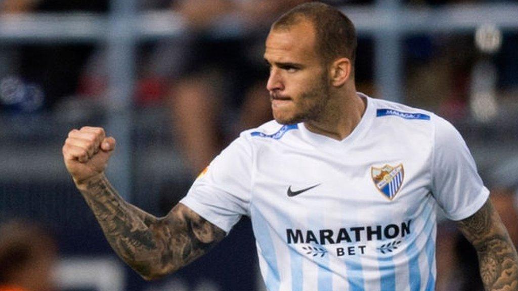 Everton close in on Malaga striker Ramirez