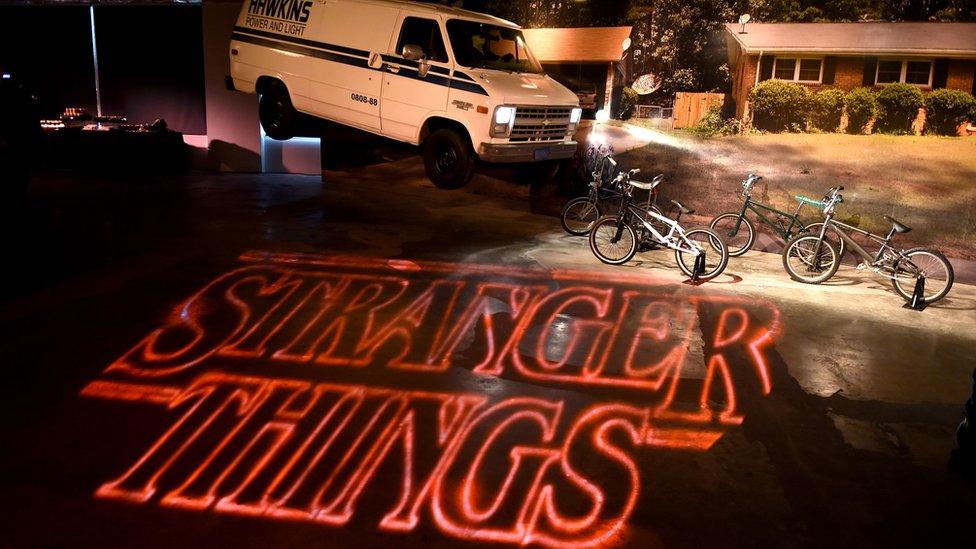 La serie Stranger Things se convirtió en un gran éxito sin haber realizado demasiada publicidad.