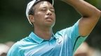 Woods's hopes dwindle after 74