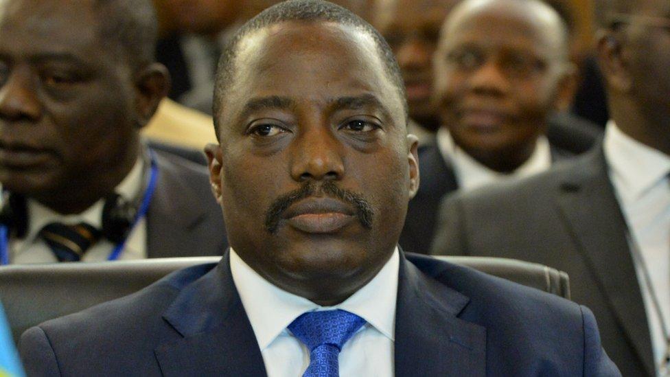 DRCongo's President Joseph Kabila