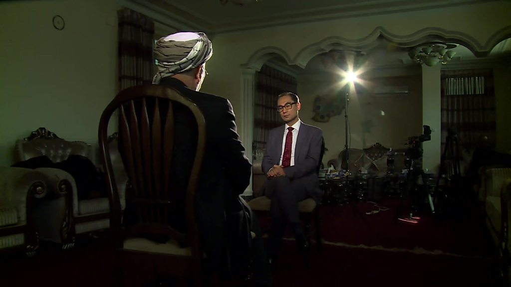 گفتوگو با محمد کریم خلیلی درباره روند صلح با طالبان