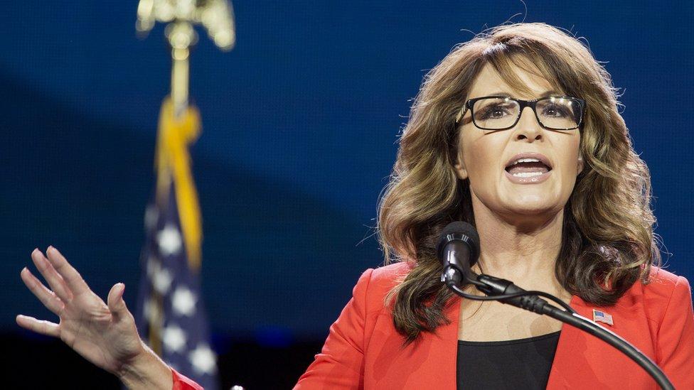 Sarah Palin warns Donald Trump on deportation U-turn