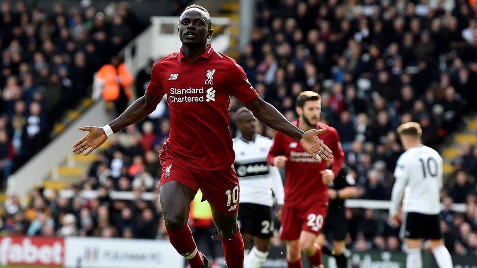 Sadio Mané encore buteur avec Liverpool