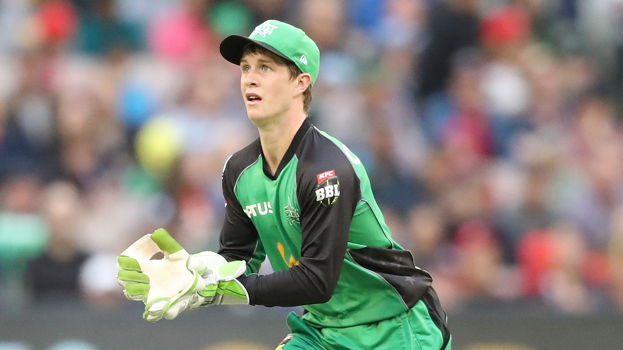 Sam Harper: Victoria wicketkeeper in hospital after being hit by a bat