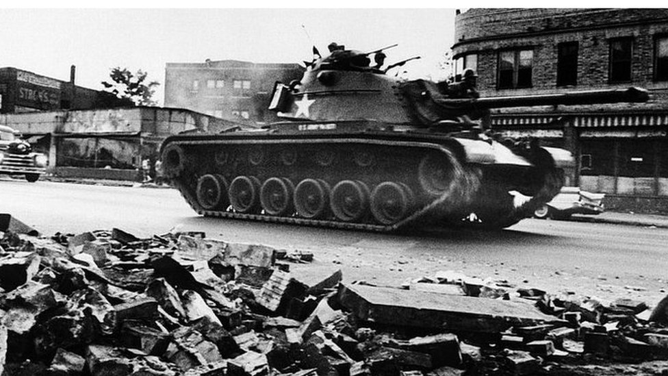 Detroit recalls five days of violent unrest a half century later