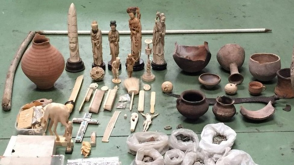 41,000 historical artefacts seized in crackdown - Europol