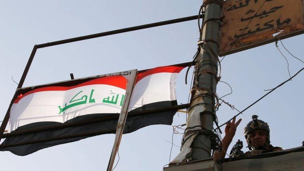 Falluja: Iraq PM Haider al-Abadi hails recapture from IS