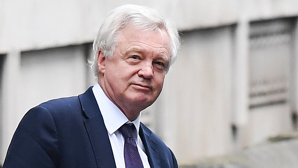 Brexit: David Davis says the EU must compromise too