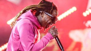 Lil Wayne 'inspires' Clinton speech